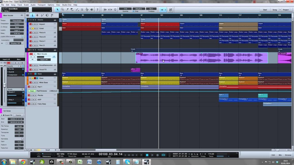 Masterclasses tutorials top dnb drum bass page 4 tutorial part 13 making vocal liquid drum bass in studio one pro production t baditri Gallery