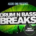 Cover art for Drum'n'Bass Breaks (Aggro DNB)