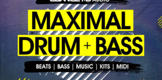 Cover art for Maximal Drum and Bass (CONNECTD Audio)