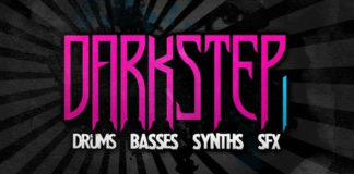 Cover art for Darkstep Vol. 1 (Delectable Records)