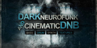 Cover art for Dark Neurofunk and Cinematic DnB Vol. 1 (Freaky Loops)