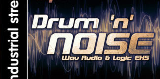 Cover art for JQR – Drum N Noise (Industrial Strength Records)