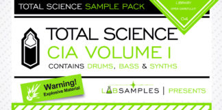 Cover art for Total Science – CIA Drum and Bass Vol. 1 (Labsamples)