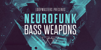 Cover art for Neurofunk Bass Weapons Vol. 1 (Loopmasters)