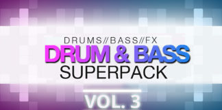 Cover art for Premier DnB Loops - Drum & Bass Superpack Vol. 3 (Premier Sound Bank)